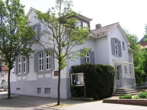Das Martin Buber-Haus in Heppenheim